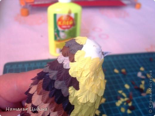 """Приветик всем!!! После того, как я выставила свою работу с птичками """"В саду!"""" http://stranamasterov.ru/node/381704, ко мне многие мастерицы обратились с просьбой сделать МК. Вот сегодня я выставляю свой МК.  фото 17"""