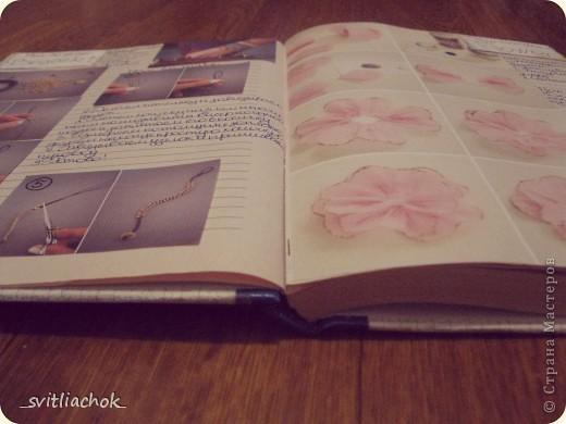 Вот такую книжечку для записей идеек по рукоделию я сделала :) фото 2
