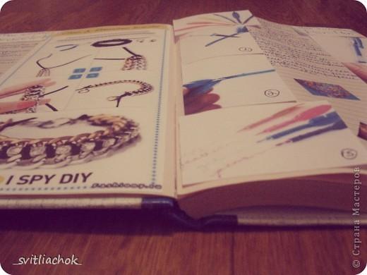 Вот такую книжечку для записей идеек по рукоделию я сделала :) фото 3