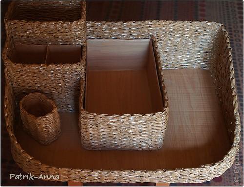 Приспособила две пары коробок из под молока и плотную коробку из под обуви. Размер поделки-50*35 Так хочется самой поскорее закончить работу и посмотреть...что же из этого получится... фото 2