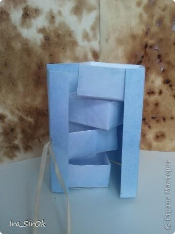 Вот! сделала еще одну коробочку, получилась более аккуратно нежели предыдущая! фото 3