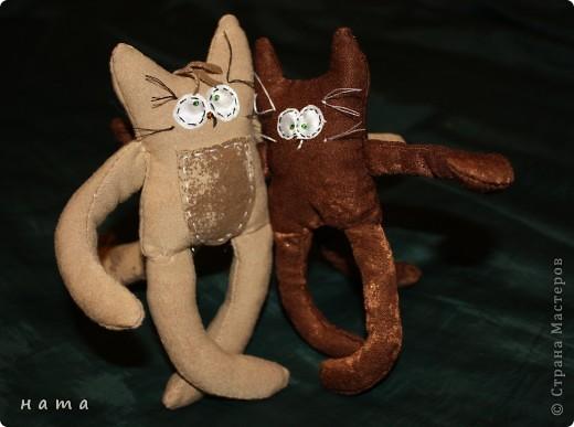 Женихов то на котовасию приехало!!!  http://stranamasterov.ru/node/381482 А девчонок нет... А природа, она ж равновесие любит - вот, встречайте, две сестрички, две подружки киска Анфиска и киска Лариска фото 3