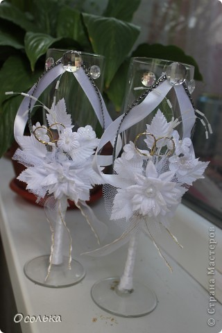Свадебные фужерчики