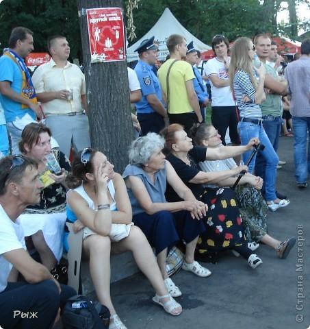 С них-то всё и началось.Билеты на первую игру в Донецке:Франция-Англия-1:1 фото 10