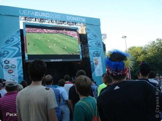 С них-то всё и началось.Билеты на первую игру в Донецке:Франция-Англия-1:1 фото 11