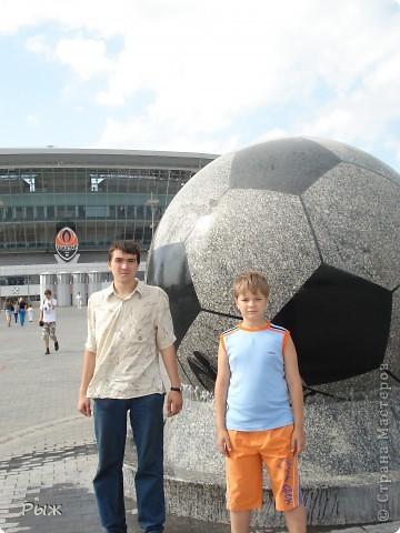 С них-то всё и началось.Билеты на первую игру в Донецке:Франция-Англия-1:1 фото 23