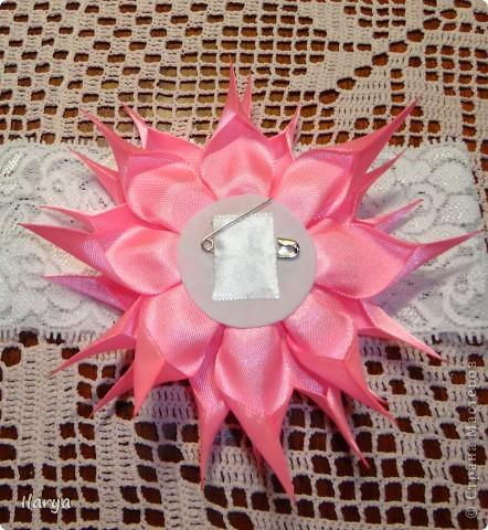 Самая простая, быстрая и красивая рукодельная вещь хоть для своей пока еще лысенькой принцессы, хоть в подарок- повязочки. Разного фасона , цвета, в разных техниках. Наша первая повязочка, связанная из ириса, на пол-годика: фото 16
