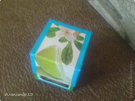 Сделал коробочку как у http://stranamasterov.ru/node/310660?c=favorite но по своему украсил. фото 2