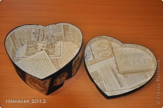 Шкатулка в подарок для племянницы. Была простая коробка из-под чайной пары, стала - шкатулка для заколочек. фото 5