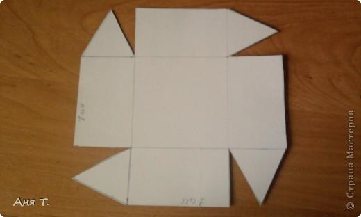 Вот она,3-х этажная шкатулка из картона. фото 12