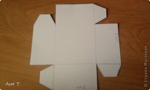 Вот она,3-х этажная шкатулка из картона. фото 13