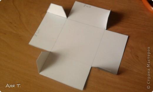 Вот она,3-х этажная шкатулка из картона. фото 14