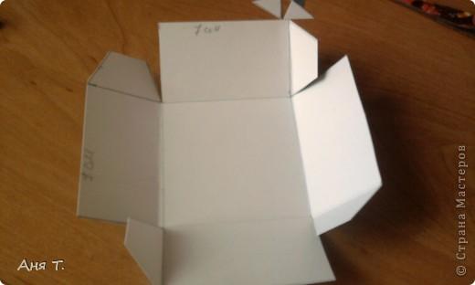 Вот она,3-х этажная шкатулка из картона. фото 15