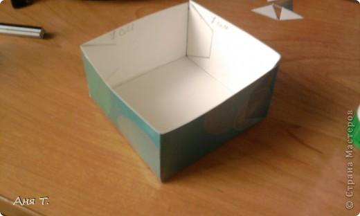 Вот она,3-х этажная шкатулка из картона. фото 17