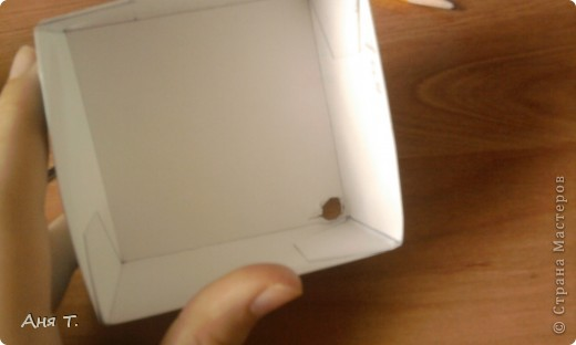 Вот она,3-х этажная шкатулка из картона. фото 19