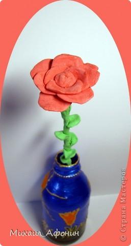 Вот такой цветок я сделал партнёрше. фото 1