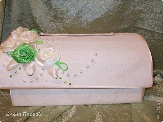 Большое спасибо мастерицам сайта, которые поделились опытом! Без Вас я бы не справилась!   невеста попросила в бело-зелёном цвете и никаких бантов. вот что получилось. фото 4