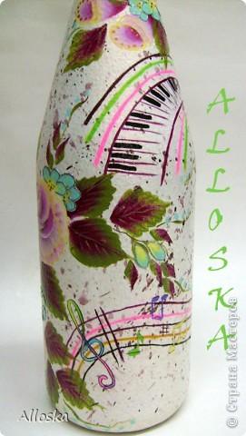 Роспись акриловыми красками плоской кистью и круглой кистью, в технике одного мазка. фото 4