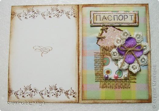 """Юля  http://stranamasterov.ru/node/383654?c=new уже писала о заданиях одного из клубов под общим названием """"Авантюра"""". Задания даются по этапам, не зная, что будет на выходе.  Вот такая у меня получилась открытка, фото 3"""