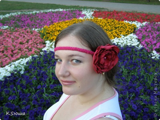 Цветочки-заколочки фото 4