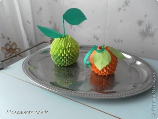 """Яблоко """"семеренко"""" и мандарин фото 2"""