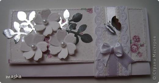 Коробочка, внутри будет конвертик и открыточка- мы с мужем будем поздравлять молодых. фото 3