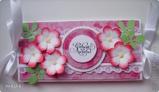 Коробочка, внутри будет конвертик и открыточка- мы с мужем будем поздравлять молодых. фото 8