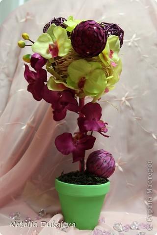 Добрый день и вечер Страна! С легкой руки Оксаночки y меня продолжается орхидеевое настроение:) Делала их в подарок воспитателям моей дочери. Вчера уже подарили. фото 3