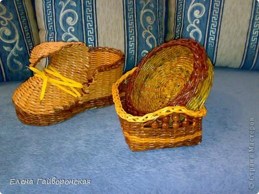 Это заказы:две хлебницы и кашпо-башмак. фото 3