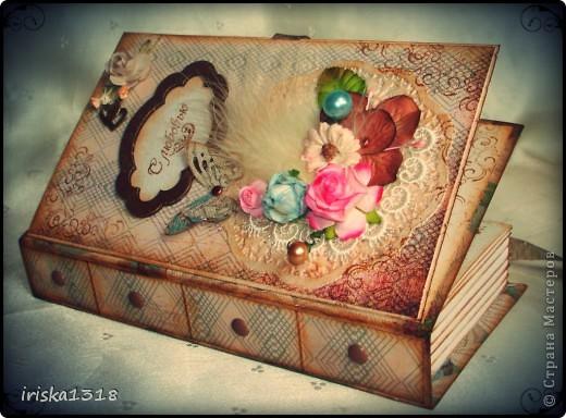 Подарочная коробка для свадебной книги фото 9