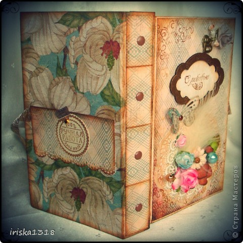 Подарочная коробка для свадебной книги фото 12