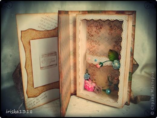 Подарочная коробка для свадебной книги фото 11