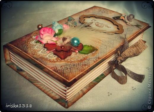 Подарочная коробка для свадебной книги фото 7