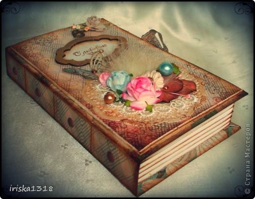 Подарочная коробка для свадебной книги фото 8