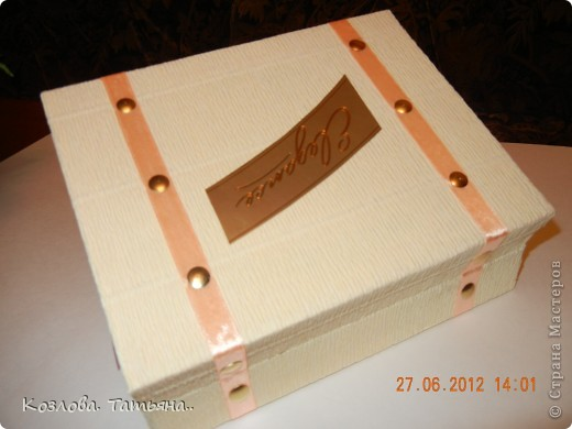 мои первые коробочки-оформляшки фото 7