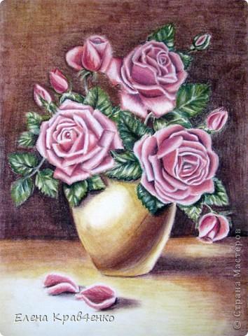 Натюрморт Розы фото 2