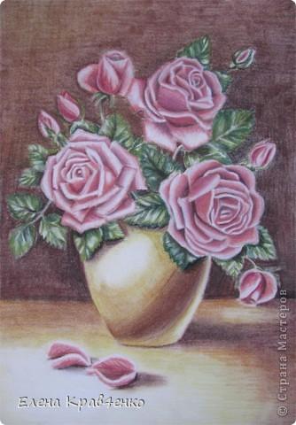 Натюрморт Розы фото 1