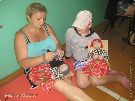 вот такие куклы получились.. шились в летнем лагере.. фото 2