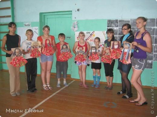 вот такие куклы получились.. шились в летнем лагере.. фото 1