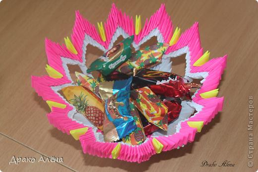 Вот такую вазу с астрами я изготовила для детского сада на выпускной старшему сыночку. МК астры взяла здесь http://stranamasterov.ru/node/23788 (спасибо Евгеше) фото 4