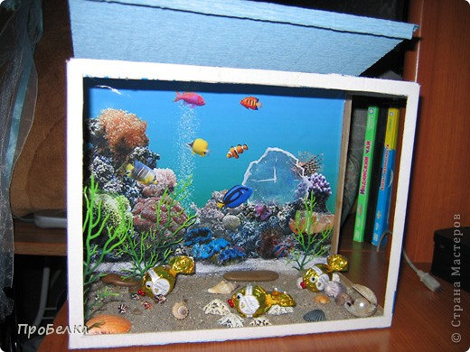 Добрый день! Кто хочет аквариум с рыбками, но не может себе позволить этого-сделайте сладкую альтернативу! И полюбоваться можно и съесть рыбок потом, даже не приготовив их! фото 5