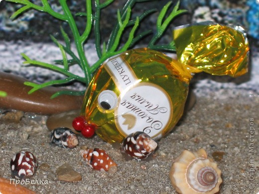 Добрый день! Кто хочет аквариум с рыбками, но не может себе позволить этого-сделайте сладкую альтернативу! И полюбоваться можно и съесть рыбок потом, даже не приготовив их! фото 7