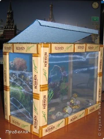 Добрый день! Кто хочет аквариум с рыбками, но не может себе позволить этого-сделайте сладкую альтернативу! И полюбоваться можно и съесть рыбок потом, даже не приготовив их! фото 9