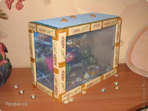 Добрый день! Кто хочет аквариум с рыбками, но не может себе позволить этого-сделайте сладкую альтернативу! И полюбоваться можно и съесть рыбок потом, даже не приготовив их! фото 13