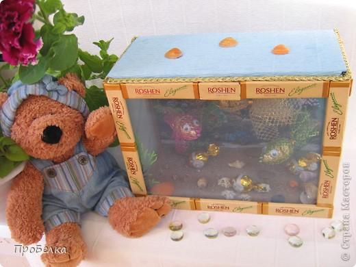 Добрый день! Кто хочет аквариум с рыбками, но не может себе позволить этого-сделайте сладкую альтернативу! И полюбоваться можно и съесть рыбок потом, даже не приготовив их! фото 12