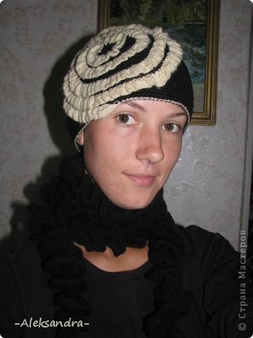 Шапочка и шарф-спиралька фото 2