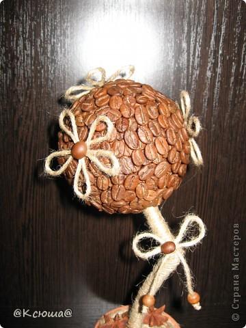 Всем привет! Вот снова кофейное дерево! Что то в последнее время как то затянули кофейные деревца!!!! Хочется делать и делать!!!!  фото 2