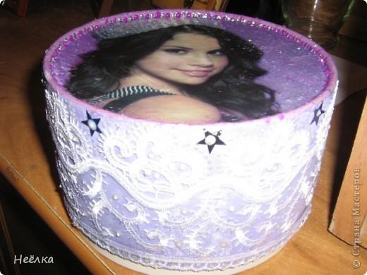 Коробочка из под печенья фото 3