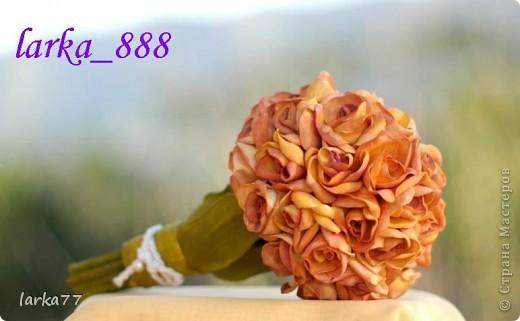 Цветы из пористой резины(фоамиран),продолжаю выставлять свои работы фото 5