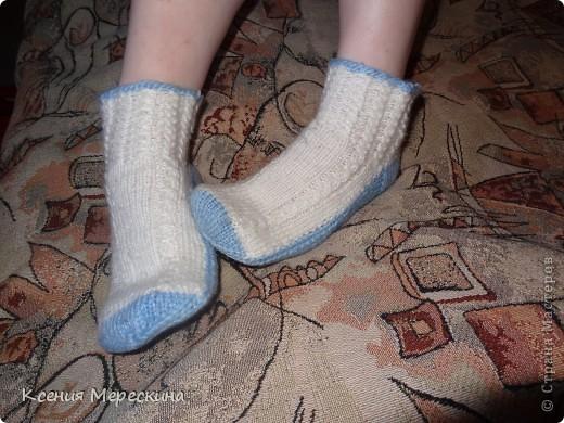 Носочки для снежной зимы!!!   фото 1